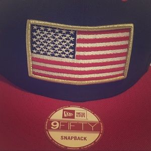 Other - New Era 9Fifty Snapback American Flag